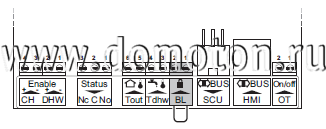 Рис. 4. Схема подключения watermark