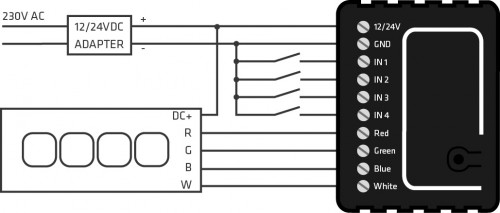 Qubino схема